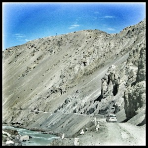 Offroading was the way we traveled throughout Spiti