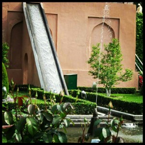 Spring water at Chasme Shahi
